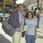 Jerry Stiller takes his son Ben to a play (1978)