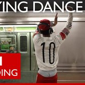 New York subway street dancers continue despite arrest threat - BBC Trending