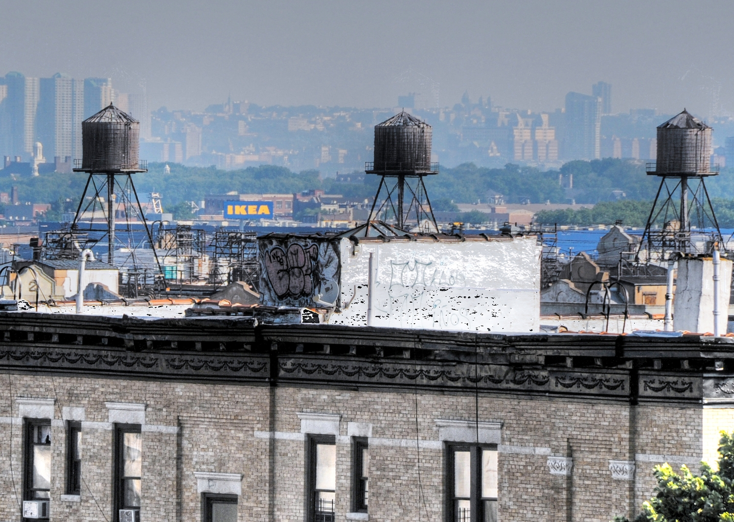 Brooklyn rooftop