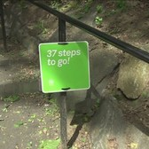 Signs Turning Heads At Washington Heights Park