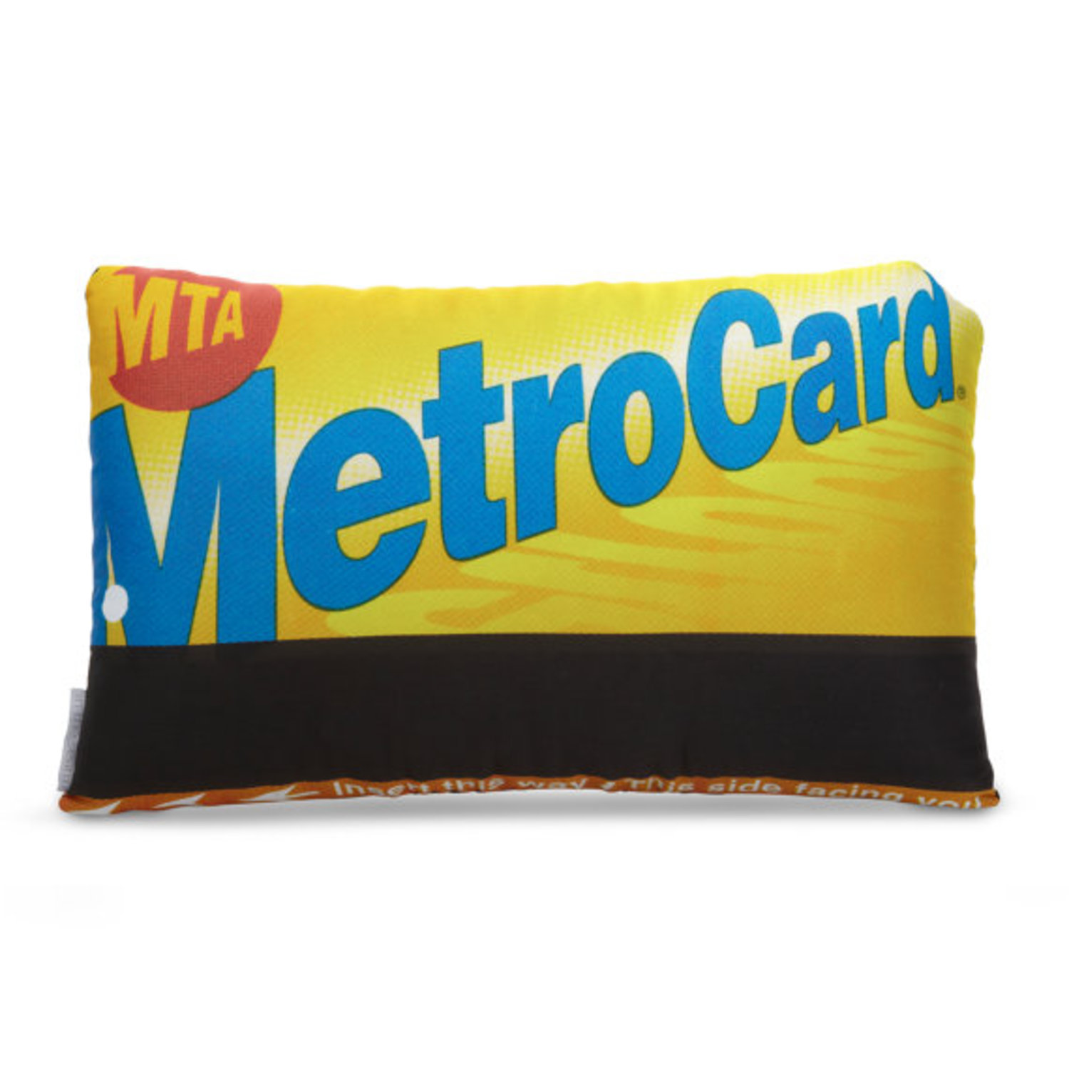 Officially Licensed NYC Metro Card Printed Pillow