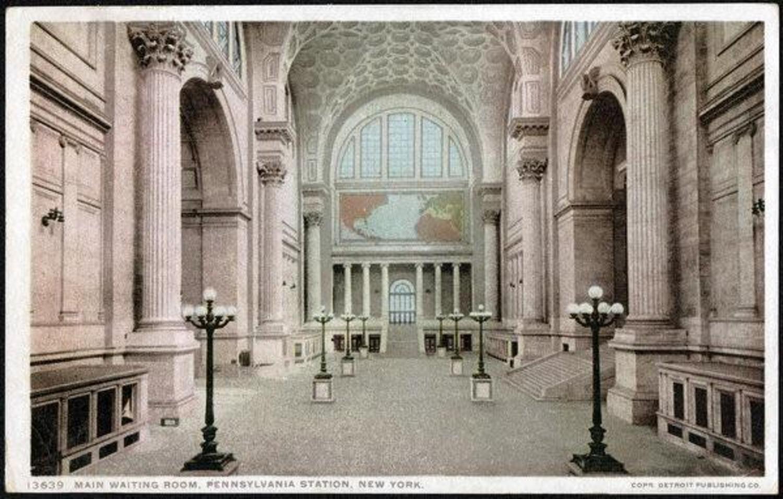 Main Waiting Room, Penn Station, 1907