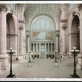 Main Waiting Room, Penn Station, 1907