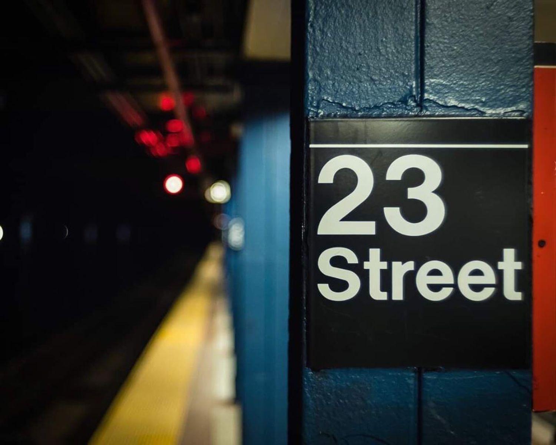23 Street Station, Manhattan, New York