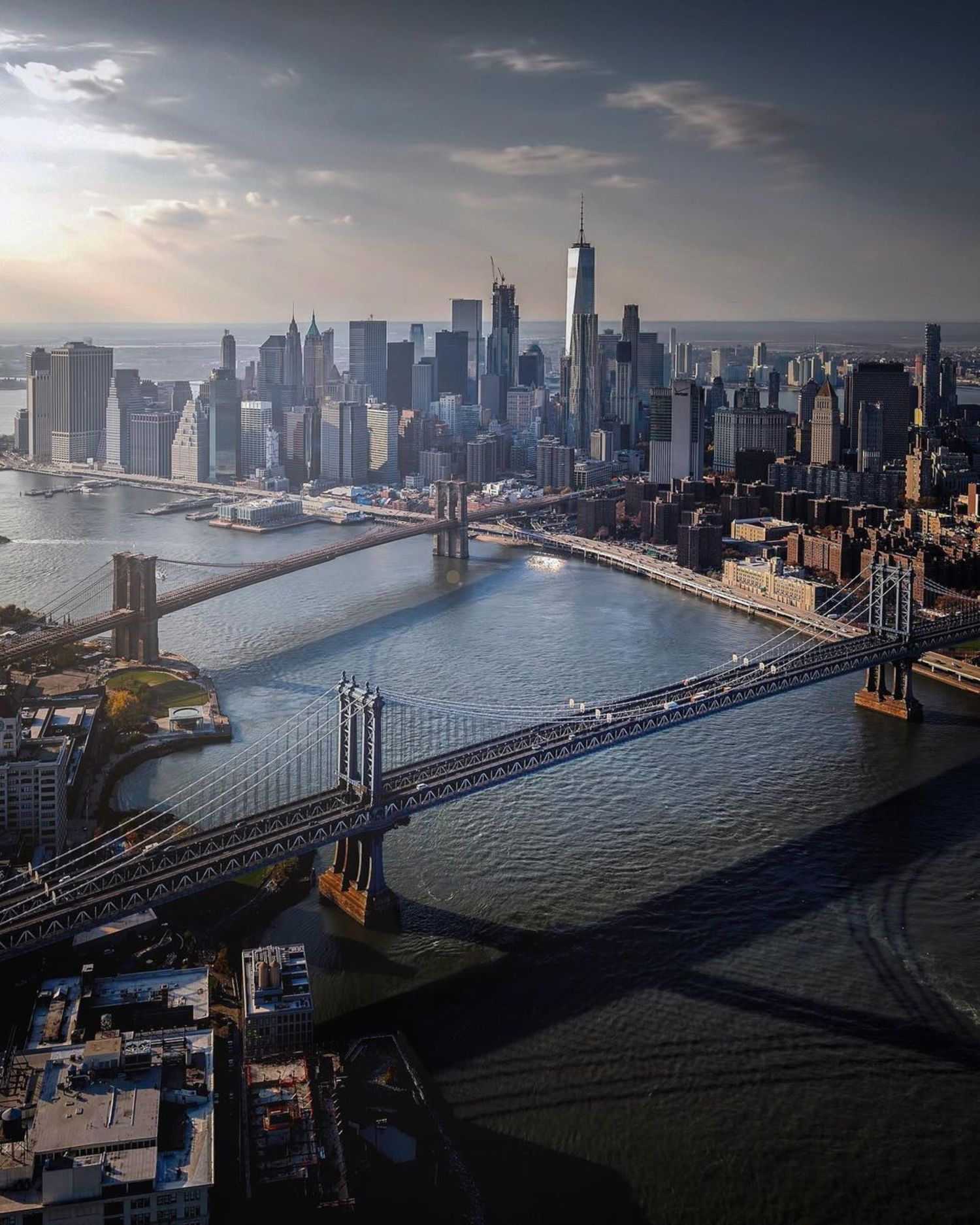 East River and Lower Manhattan