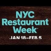 NYC Restaurant Week, Winter 2016
