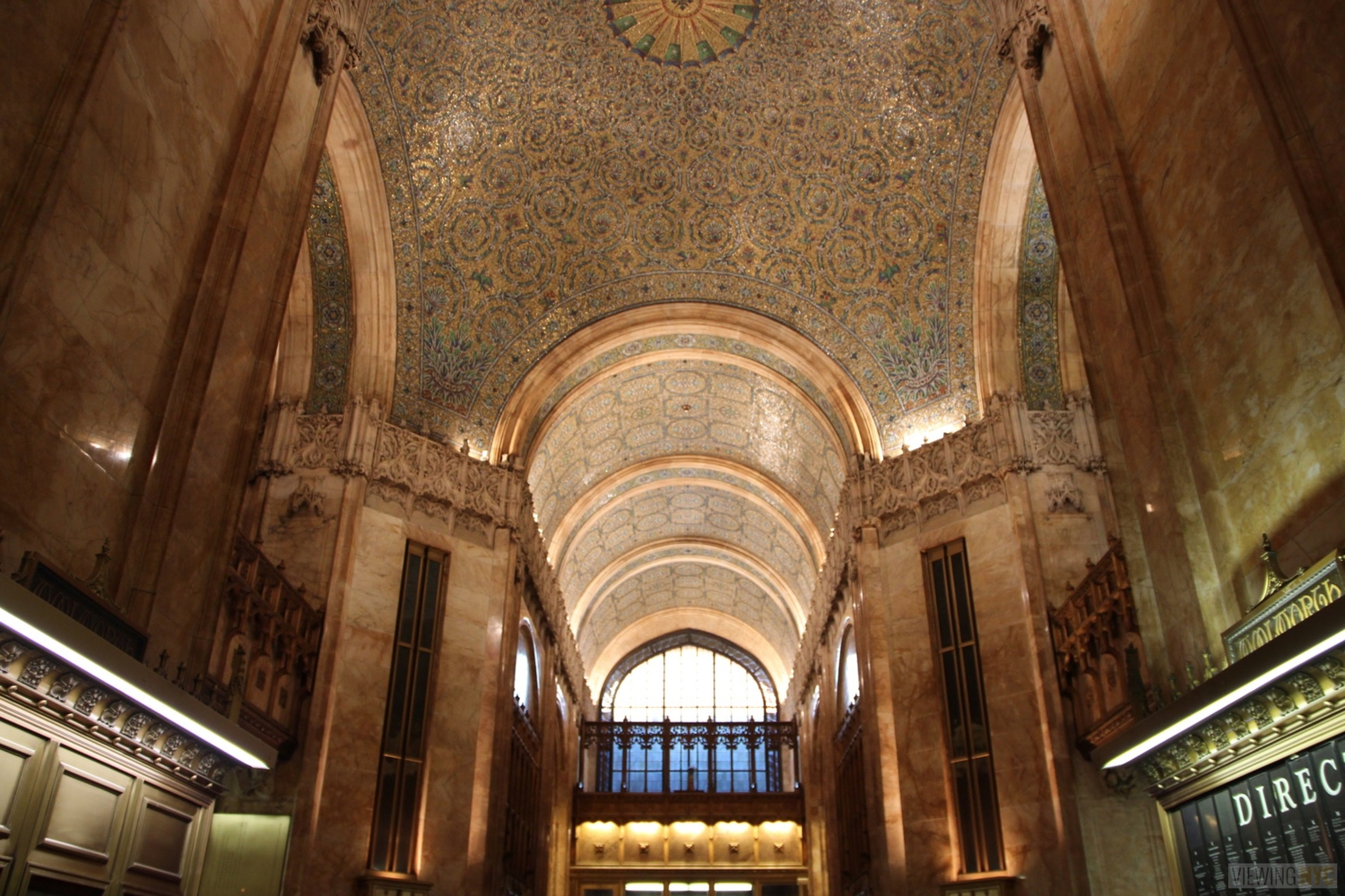 Woolworth Building Lobby and Basement Tour 25