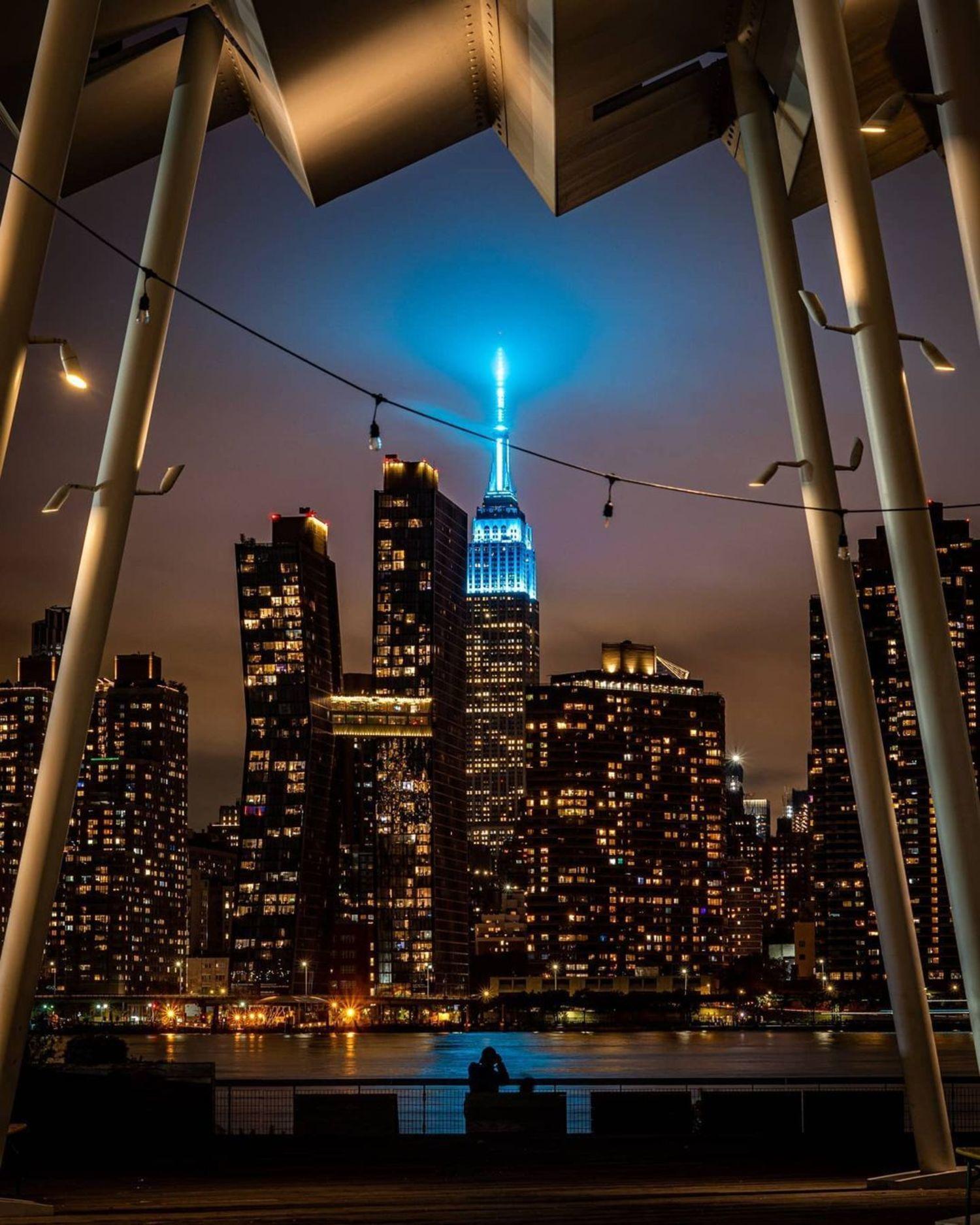 Midtown Manhattan Skyline from Long Island City, Queens