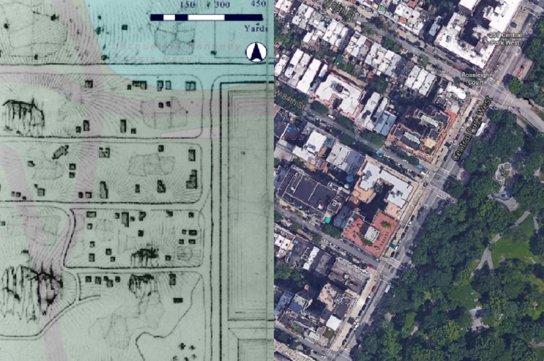 Seneca Village Project; Google Earth.