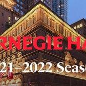 Carnegie Hall's 2021–2022 Season