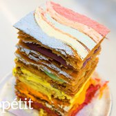 Dominique Ansel Reimagines the Rainbow Cake