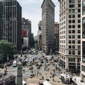 Flatiron Building, Manhattan. Photo via @iwyndt #viewingnyc #newyork #newyorkcity #nyc