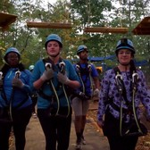Night Climb and Zip | Bronx Zoo Treetop Adventure