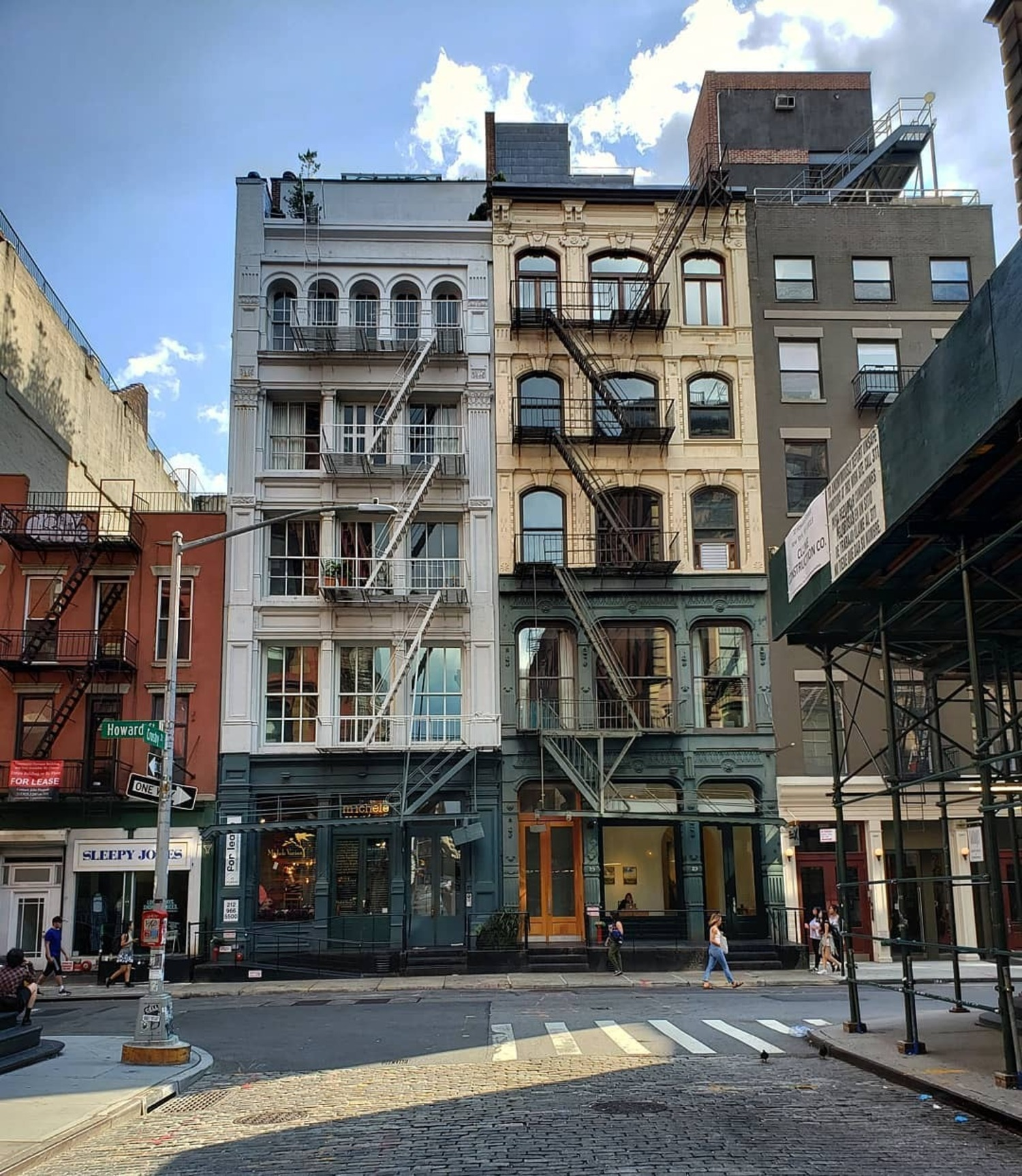 Howard St and Crosby St, SoHo, Manhattan