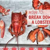 How To Break Down & Eat A Lobster