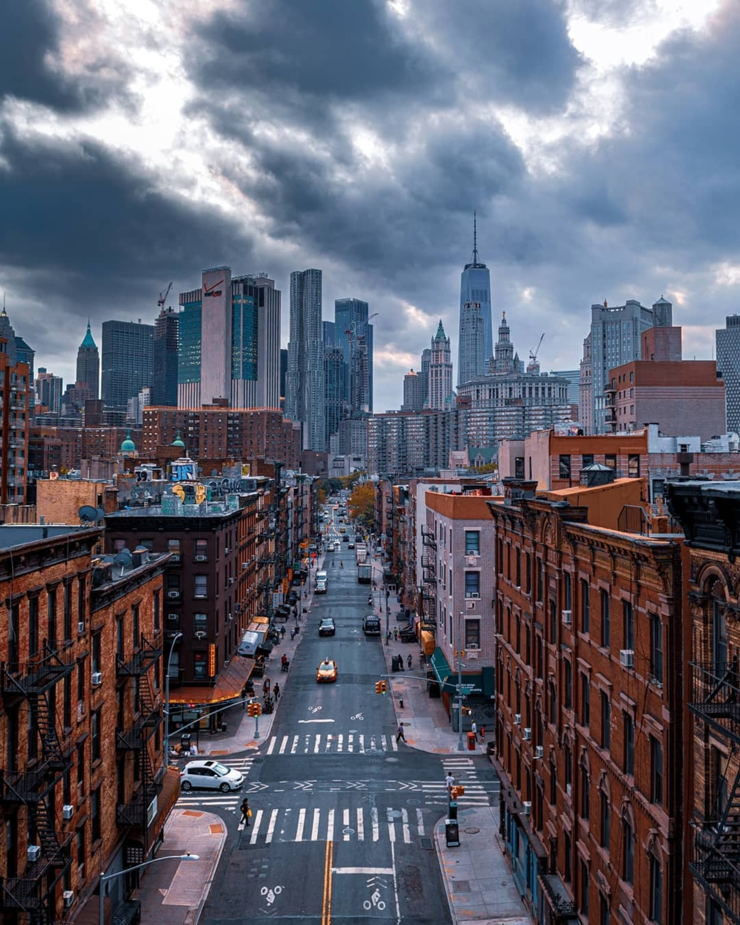 Madison Street, Chinatown, Manhattan