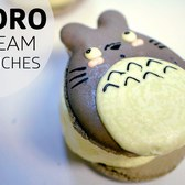 The Cutest Totoro Ice Cream Macarons at Bibble & Sip! – Afternoon Snack