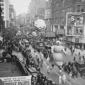 Vintage Photograph Of The Macys Thanksgiving Parade On November 27th 1930