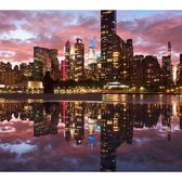 Manhattan Skyline from FDR Four Freedoms Park, Roosevelt Island, Manhattan