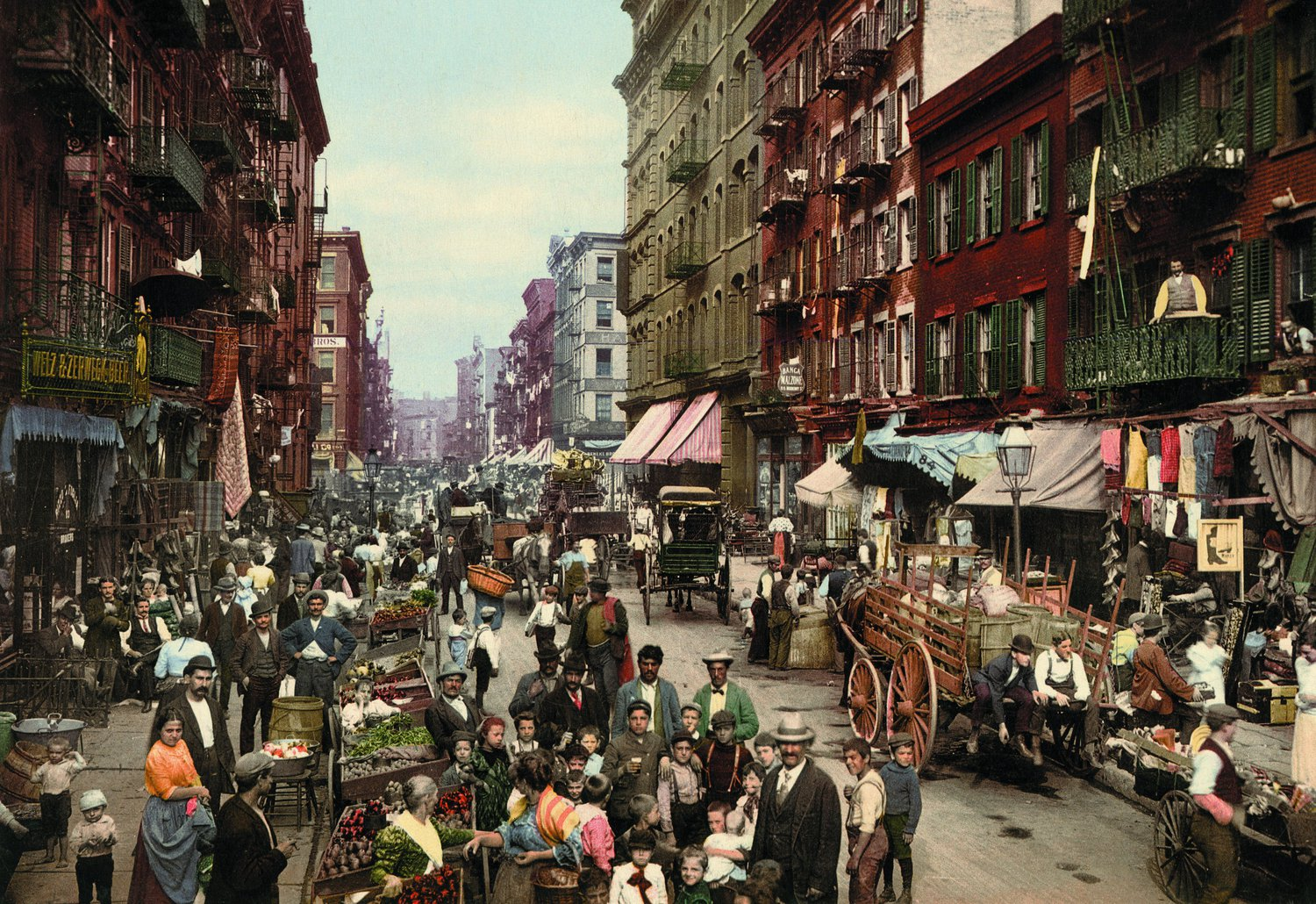 Mulberry Street, New York.