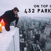 ON TOP OF 432 PARK AVENUE! 1400FT ABOVE NEW YORK!