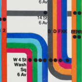 The Diagram Decades of the New York City Subway Map