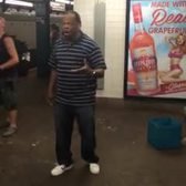 Amazing Subway Busker