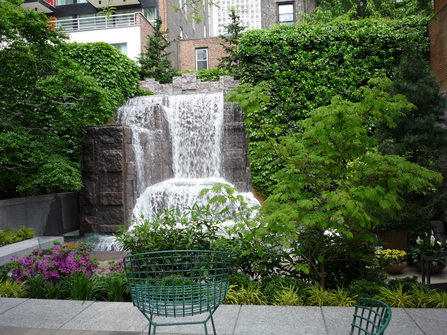 Greenacre Park | on E. 51st between 2nd and 3rd Avenues