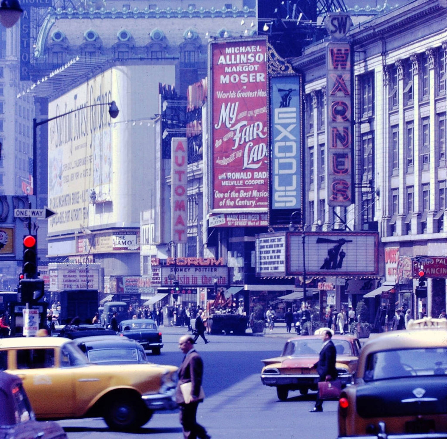 Times Square, New York, New York, 1961