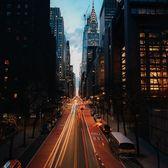 42nd Street from Tudor City Overpass