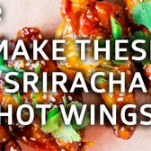 How To Make Sriracha Chicken Wings the Hometown Bar-B-Que Way