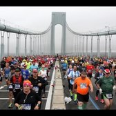 2017 NYC Marathon Time Lapse at the Verrazano Bridge