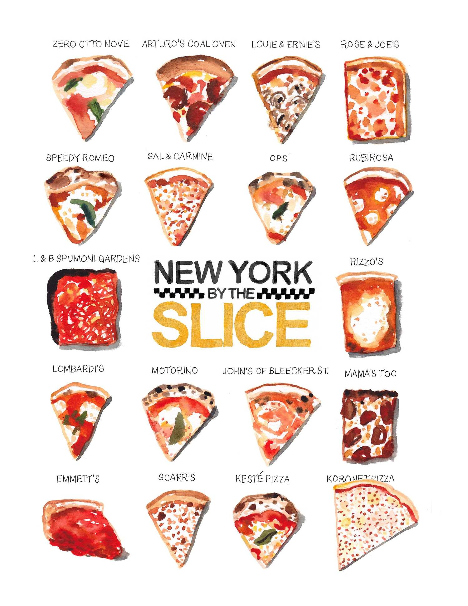New York by the Slice, Volume 2