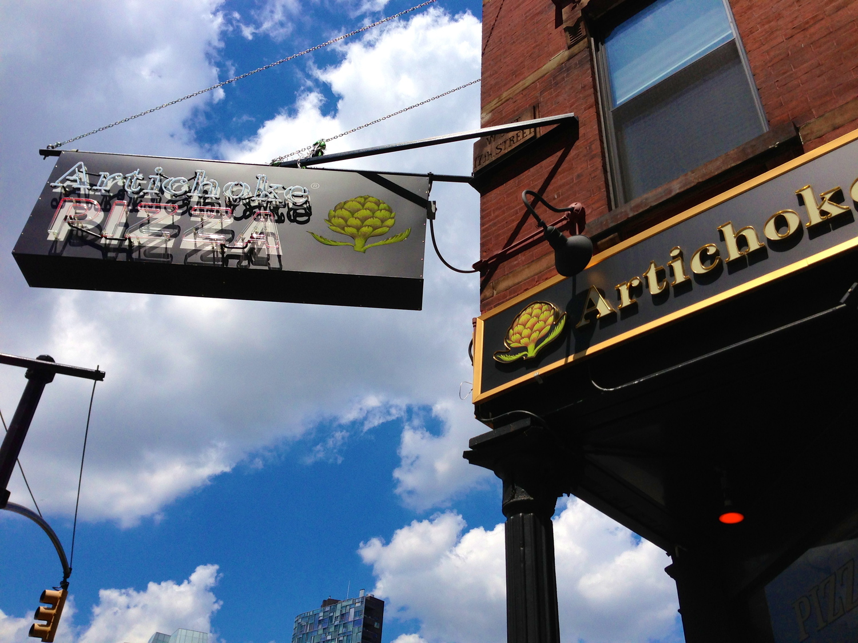 Artichoke Basille's Pizza | 114 10th Ave btwn 17th & 18th St, New York, NY