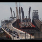 Time lapse: Old Goethals Bridge closes, new span opens