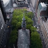 St. Paul's Chapel, New York, New York. Photo via @urbnxplrtn #viewingnyc #newyorkcity #newyork
