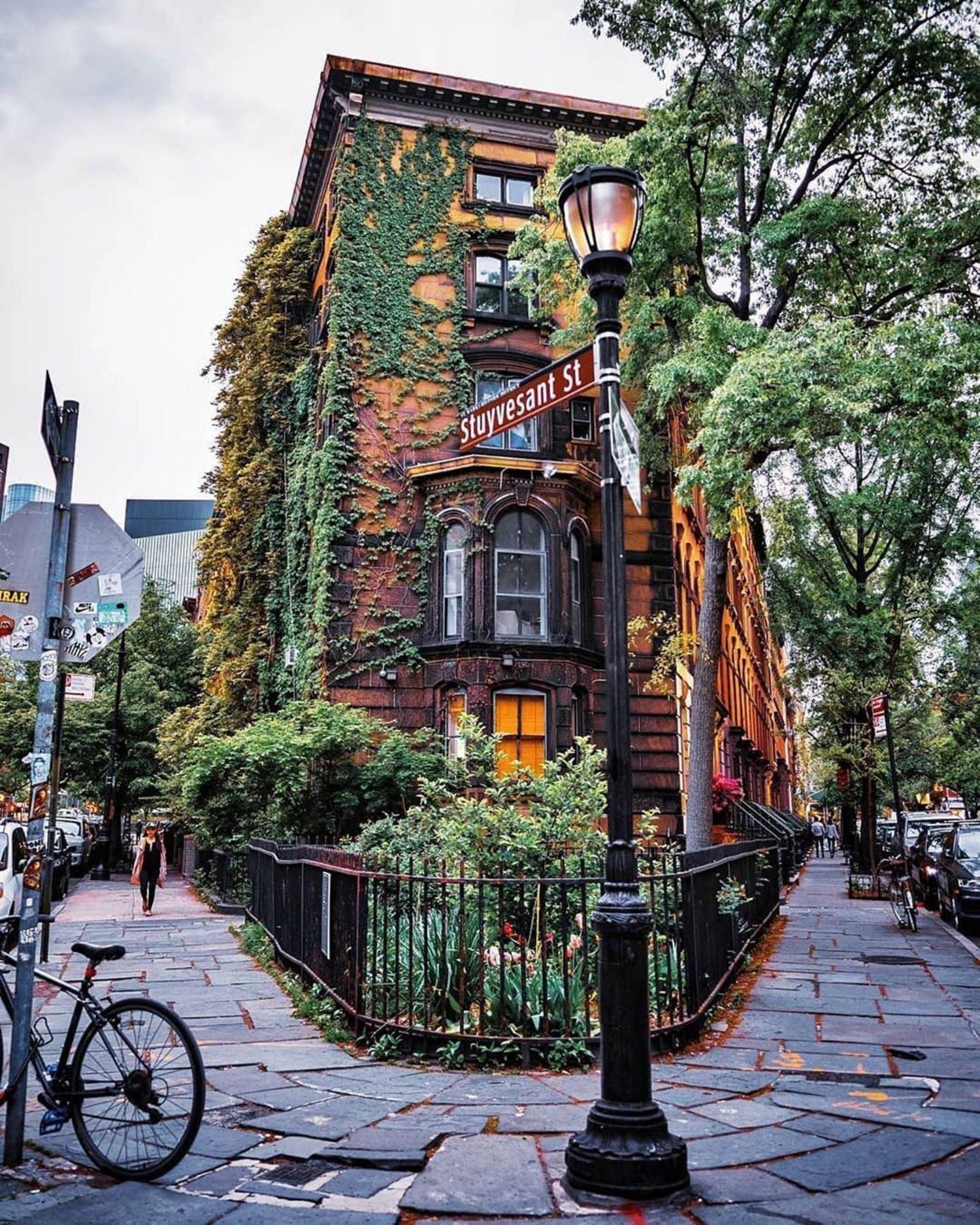 Stuyvesant Street, East Village, Manhattan.