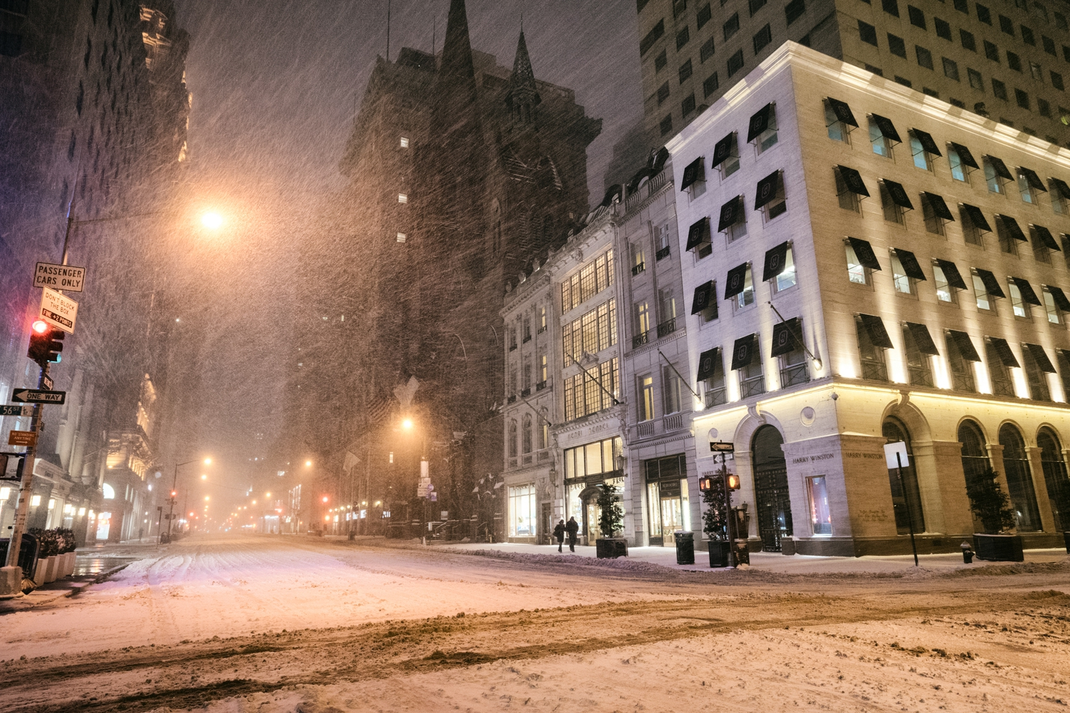 "New York City - Snow - Winter Storm Juno - Empty 5th Avenue - Henri Bendel | Juno: The first snowstorm of 2015 in New York City.  ---  (Note: My <a href=""http://www.amazon.com/gp/product/1440339589/ref=as_li_tl?ie=UTF8&camp=1789&creative=9325&creativeASIN=1440339589&linkCode=as2&tag=nyththle0e-20&linkId=ER6GYT5FRYNMEPLF"" rel=""nofollow"">New York photography book</a> released worldwide in stores/online recently and has photos similar to this  [full info below])  ---  I have been photographing New York City during snowstorms at night for the past 5 years. When it comes to experiencing <a href=""http://nythroughthelens.com/tagged/snow"" rel=""nofollow"">New York City in the snow</a>, I relish the challenge. The more gusty, snowy, and brutal the storm, the more of a chance that I will be out in it traipsing around New York City with my cameras in tow.  When I heard that the MTA was suspending all transit service (and most vehicles) at 11 pm, I made the decision to take the train up to the Upper East Side prior to 11 pm to deposit myself up there with the intention of walking from the Upper East Side to Times Square and then walking the several miles back to the Lower East Side (whew!!).  The streets were eerily empty.  Emptier than they are usually at night during snowfall. Since there was a ban on all vehicles aside from snow plows and emergency services, there were practically no cars at all on the streets. Even taxis were banned from the streets!  I walked in the middle of avenues and streets that are usually teeming with cars.  There was an eerie sense of calm.  It was magical.   ---  This is part of a post that I posted to my NYC photography blog. If you are curious enough to look at the photos there, here is the link to the post:  <a href=""http://nythroughthelens.com/post/109291619025/new-york-city-snow-winter-storm-juno-i"" rel=""nofollow"">New York City - Winter Storm Juno</a>   ----  * As mentioned above - My New York City coffee table book that released in stores/online worldwide recently.   Tons of information about my <a href=""http://www.amazon.com/gp/product/1440339589/ref=as_li_tl?ie=UTF8&camp=1789&creative=9325&creativeASIN=1440339589&linkCode=as2&tag=nyththle0e-20&linkId=ER6GYT5FRYNMEPLF"" rel=""nofollow"">New York photography book</a> with sample pages (including where to order and what stores are carrying it) here:  <a href=""http://nythroughthelens.com/post/92873566010/ny-through-the-lens-the-book-i-am-super"" rel=""nofollow"">NY Through The Lens: A New York Coffee Table Book</a> ---   View my New York City photography at my website <a href=""http://nythroughthelens.com/"" rel=""nofollow"">NY Through The Lens</a>.  View my Travel photography at my travel blog: <a href=""http://travelinglens.me/"" rel=""nofollow"">Traveling Lens</a>.  Interested in my work and have questions about PR and media? Check out my:  <a href=""http://nythroughthelens.com/about"" rel=""nofollow"">About Page</a> 