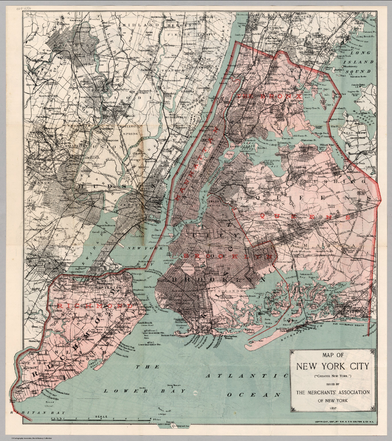 Show Me The Map Of New York.A Map Of The Greater New York Issued By The Merchants Association