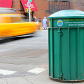 New York City Trash Can