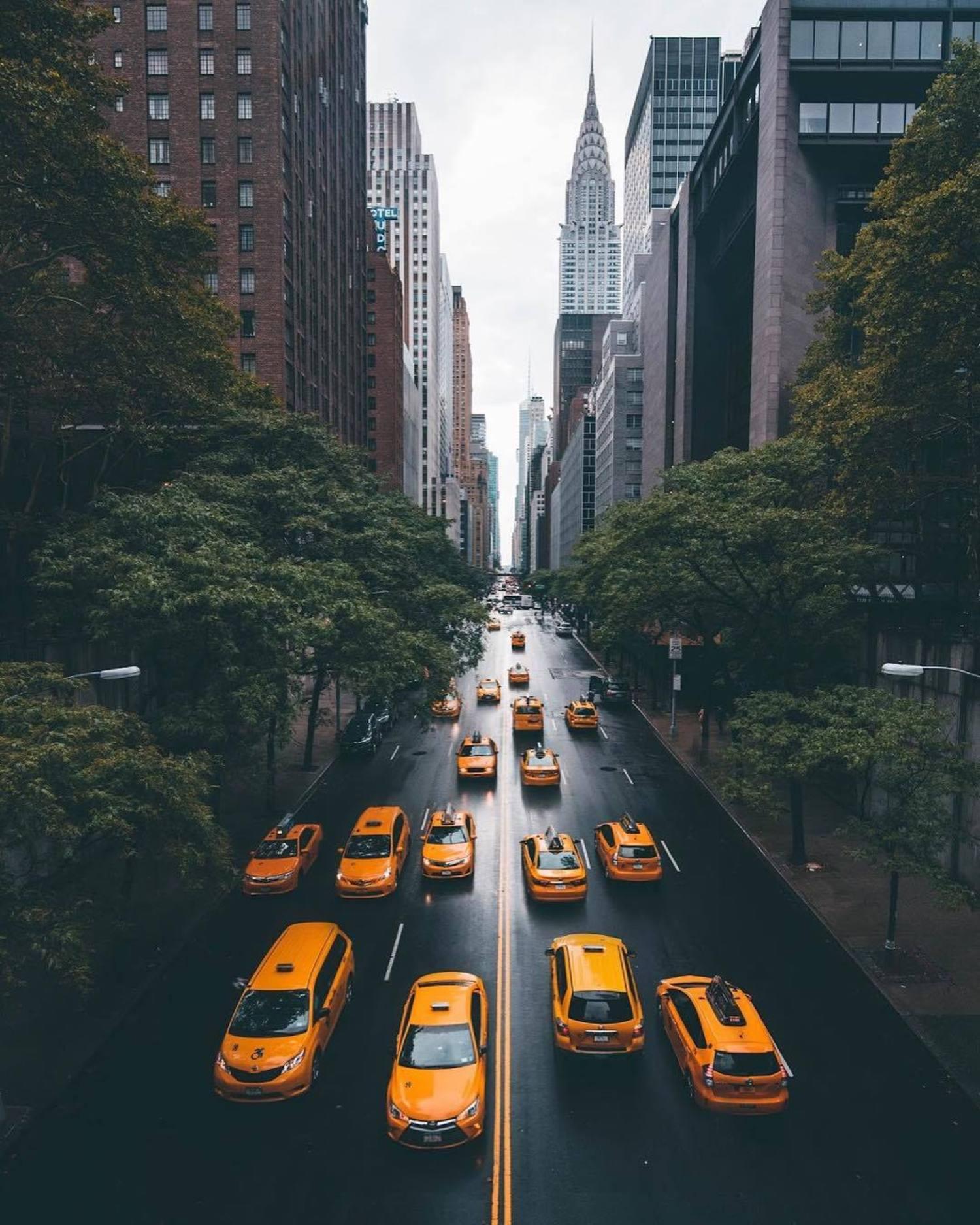 42nd Street from Tudor City Overpass, Midtown, Manhattan