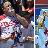 Joey Chestnut, Miki Sudo repeat as hot dog champs