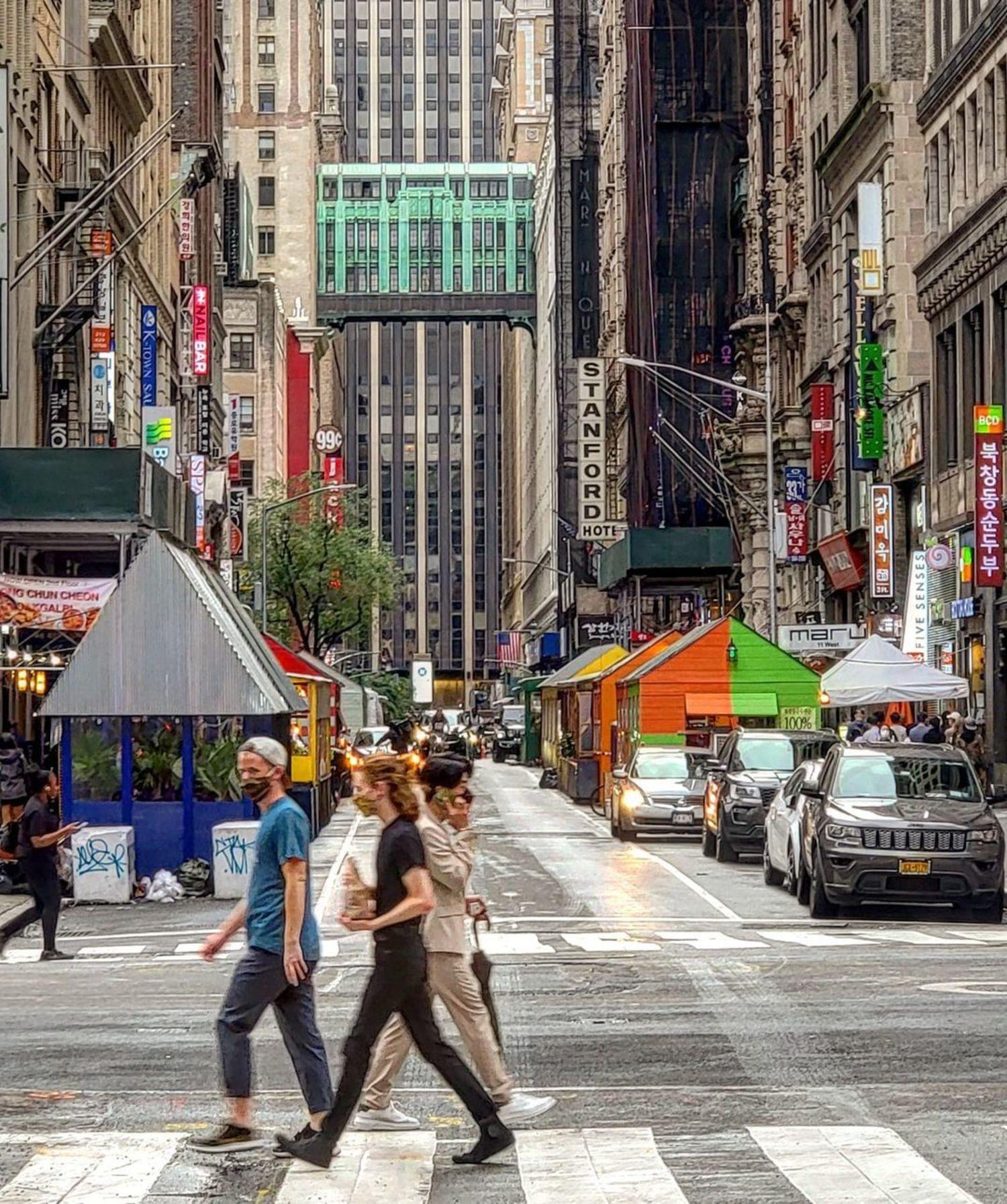 West 32nd Street, Koreatown, Midtown, Manhattan