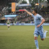 GOAL | David Villa Opens the Scoring | NYC @ POR