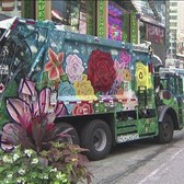 Sanitation Trucks Get Makeover For 'Trucks Of Art' Project