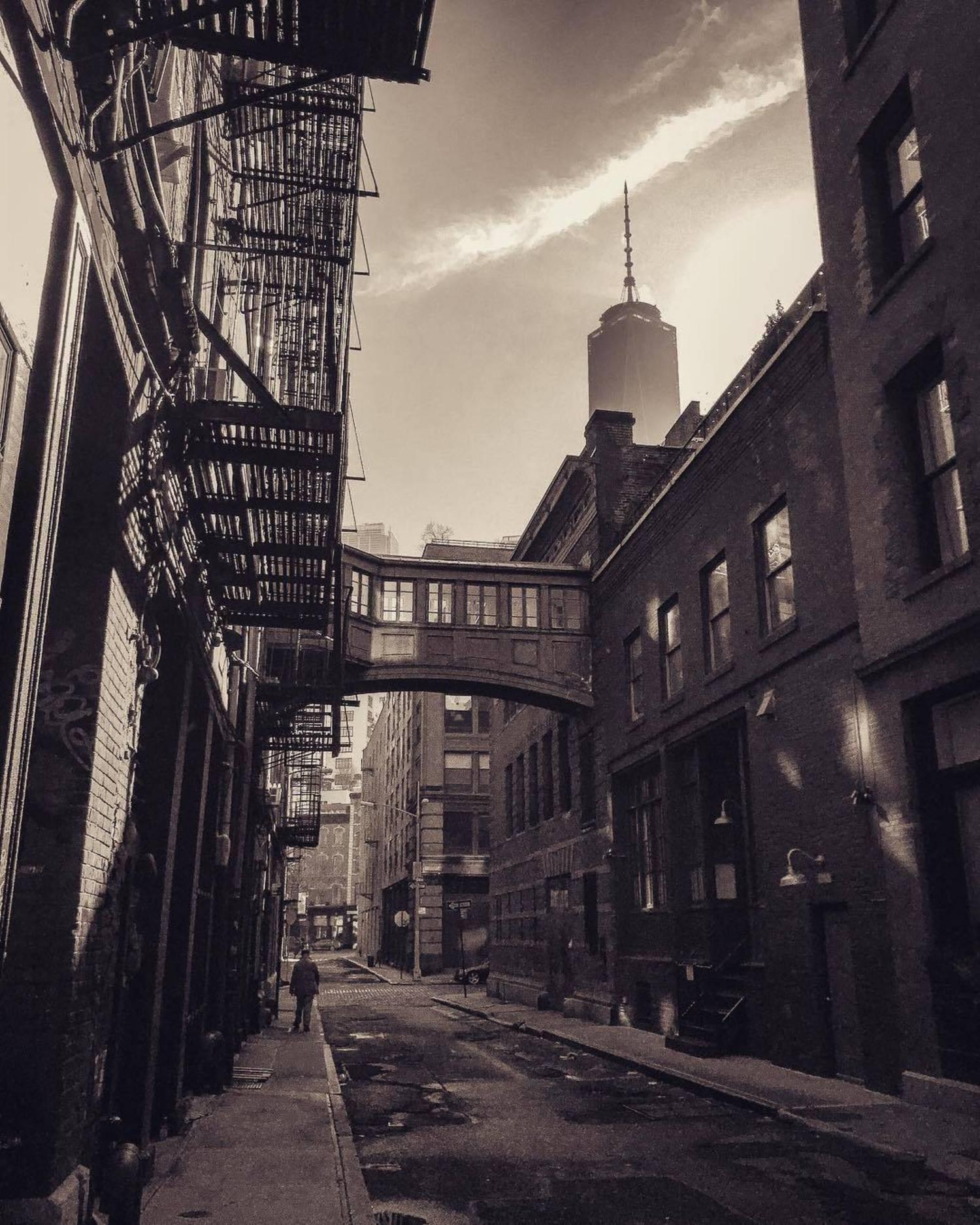 Staple Street Skybridge, Tribeca, Manhattan, New York