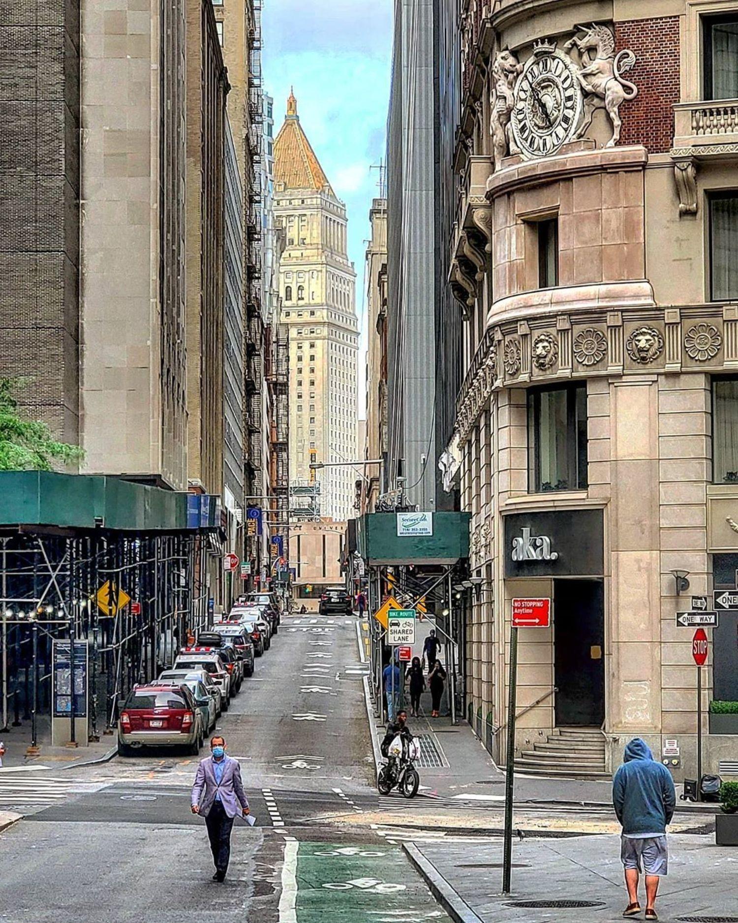William Street, Financial District, Manhattan