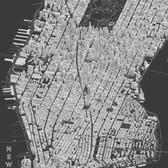 New York City, Clay Print