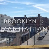 Brooklyn to Manhattan subway ride Timelapse