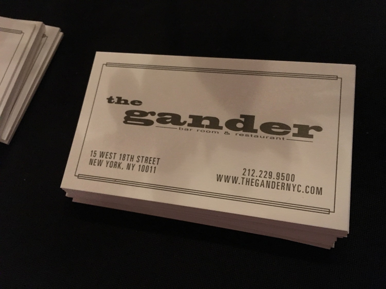 The Gander Logo